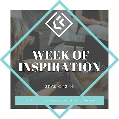 Week of inspiration
